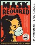 Mask Required Door Sign Design...