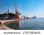 Commercial Port With Old...