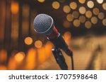 Concert Backstage   Microphone...