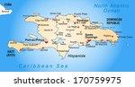 map of hispaniola as an... | Shutterstock . vector #170759975