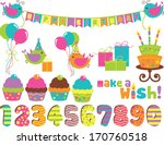 birthday wish | Shutterstock .eps vector #170760518