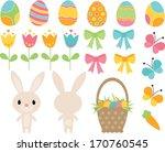 easter bunny | Shutterstock .eps vector #170760545