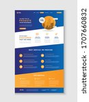 business website landing page   ...