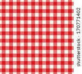 textured red and white plaid... | Shutterstock .eps vector #170771402