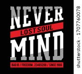 never mind typography for t... | Shutterstock .eps vector #1707760078