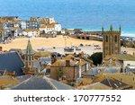 seaside village of st. ives ...