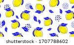 seamless bright light pattern... | Shutterstock .eps vector #1707788602