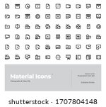 material vector icon design...
