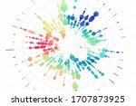 vector big data visualization....   Shutterstock .eps vector #1707873925