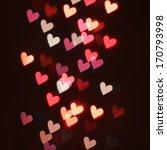Hearts Bokeh In Dark....