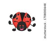 ladybird ladybug cartoon... | Shutterstock .eps vector #1708000648