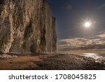Chalk Cliffs On The Sussex...