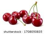 Cherry Isolated. Cherries On...