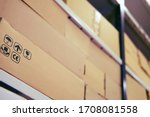 Warehouse Filled With Boxes Of...