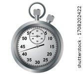 old arrow stopwatch. device for ... | Shutterstock .eps vector #1708202422