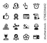set of business icons  such as... | Shutterstock .eps vector #1708234642