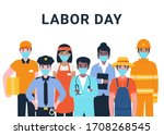 International Labor Day. Set...