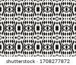 ikat border. geometric folk... | Shutterstock .eps vector #1708277872