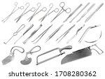 surgical instruments set....   Shutterstock .eps vector #1708280362