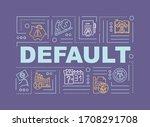 default word concepts banner....