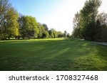 Golf Course On A Summer Morning
