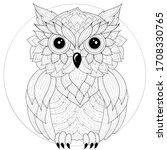 Owl.coloring Book Antistress...