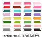 mini washi tape strips colorful ... | Shutterstock . vector #1708338595