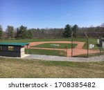 A Baseball Field From Behind...