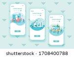 edi   electronic data...   Shutterstock .eps vector #1708400788