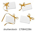 collection of various note card ... | Shutterstock . vector #170842286