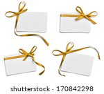 collection of various note card ... | Shutterstock . vector #170842298