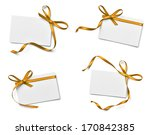 collection of various note card ... | Shutterstock . vector #170842385