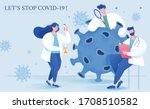 thank you banner for virus... | Shutterstock .eps vector #1708510582