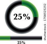 circle percentage diagrams 25 ...