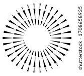 radial speed lines in spiral...   Shutterstock .eps vector #1708658935