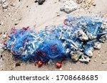Fishing Net Is Abandoned On...