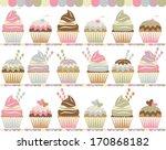 cupcake cafe | Shutterstock .eps vector #170868182