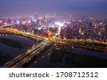 Night View Of Zhongxing Bridge...