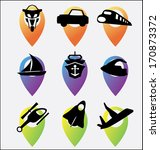 emblem.transport.travel | Shutterstock .eps vector #170873372