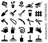 Garden Tool Icon Collection  ...