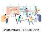 furniture store sale  vector... | Shutterstock .eps vector #1708810045