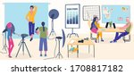 photo studio professional... | Shutterstock .eps vector #1708817182
