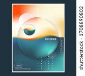 retro futuristic poster for...   Shutterstock .eps vector #1708890802