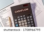 Cashflow Word On Calculator And ...