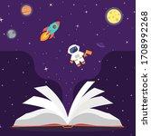 space vector background....   Shutterstock .eps vector #1708992268