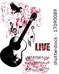 vector illustration of grunge... | Shutterstock .eps vector #17090089