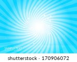 vector blue abstract  star...