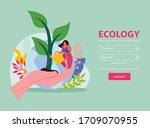 ecology and save nature concept ...