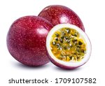 Clipping Path Passion Fruit...