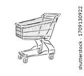 vector sketch illustration  ... | Shutterstock .eps vector #1709130922